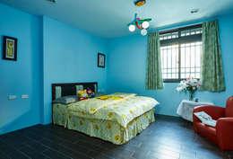 南投埔里住宅設計案:  嬰兒/兒童房 by 瑞瑩室內裝修設計工程有限公司