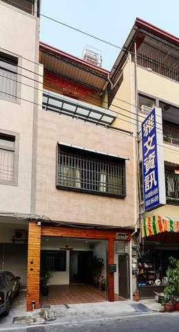 南投埔里住宅設計案:  房子 by 瑞瑩室內裝修設計工程有限公司