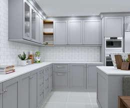 SANDTON KITCHEN - Bespoke design :  Built-in kitchens by Linken Designs