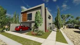 CASA GL : Casas de estilo moderno por Estudio CALLI