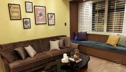 故事的故事:  客廳 by 酒窩設計 Dimple Interior Design