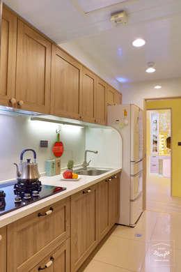 故事的故事:  廚房 by 酒窩設計 Dimple Interior Design