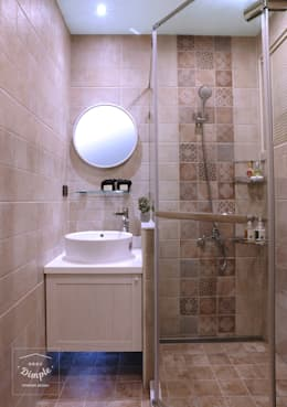 故事的故事:  浴室 by 酒窩設計 Dimple Interior Design