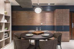 節理:  餐廳 by 寬宸室內設計有限公司
