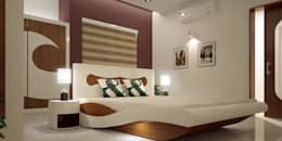 Architects in Kerala: asian Bedroom by Monnaie Interiors Pvt Ltd
