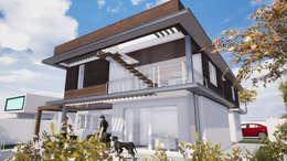 CASA PAVLOVIC - EL-NAREKH: Casas unifamiliares de estilo  por Dušan Marinković - Arquitectura