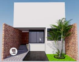 CASA EXPERIENCIA : Casas unifamiliares de estilo  por Estudio CALLI