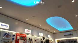 Ruang Rapat (Ceiling):  Kantor & toko by Likha Interior