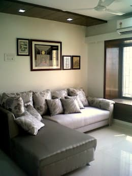 Residential Interior Projects: modern Living room by deZinebox
