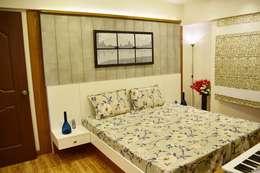 Project: modern Bedroom by The D'zine Studio
