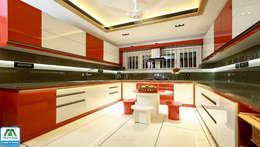 Ultra-Modern Designs: country Kitchen by Premdas Krishna
