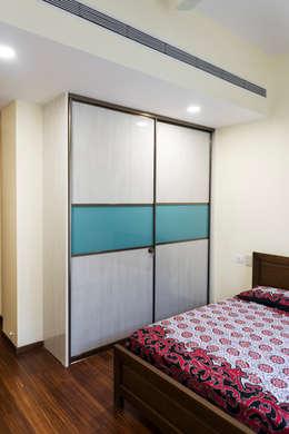 Anna varghese: modern Bedroom by Designasm Studio