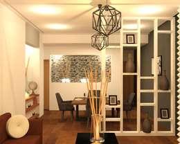 Comedor - Celosia: Comedores de estilo moderno por Perfil Arquitectónico