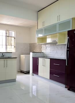 Apoorva Vijesh Aratt requiza: modern Kitchen by Designasm Studio