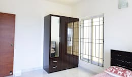Apoorva Vijesh Aratt requiza: modern Dressing room by Designasm Studio