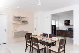 Durga Petals 301: modern Dining room by Designasm Studio