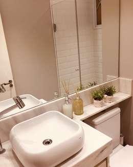 Banheiro: Banheiros escandinavos por Artha Arquitetura