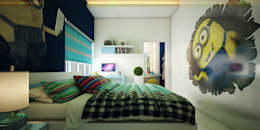 Kids Bedroom Designers & Architectural Consulting in Cochin:  Bedroom by Monnaie Interiors Pvt Ltd