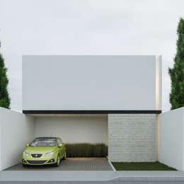 Fachada Principal: Casas de estilo minimalista por Ki-Wi