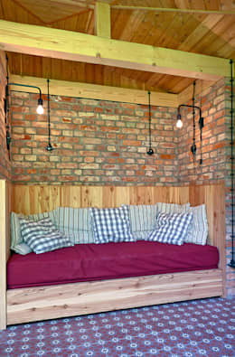 Gartenpavillon – Innenraum:  Gartenhaus von Lena Klanten Architektin