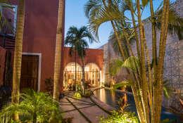 Casa tres dragones: Casas de estilo colonial por Taller Estilo Arquitectura
