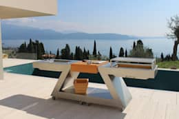 OUTDOOR KITCHEN: Giardino in stile in stile Moderno di ZED EXPERIENCE - indoor & outdoor kitchen