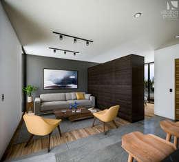 20 salas peque as con grandes ideas para decorar for Decoracion minimalista casa pequena