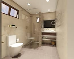 Renovation and Expansion - Bathroom: modern Bathroom by Architecture Creates Your Environment Design Studio
