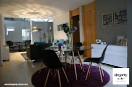 Vista de estancia: Salas de estilo moderno por eleganty