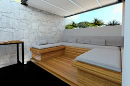 Vista Roofgarden: Terrazas de estilo  por eleganty