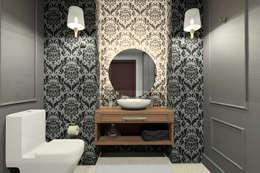 Vista Baño: Baños de estilo  por eleganty