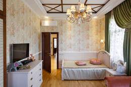 «Солнечная Резиденция», Дом в Румболово, 260 м.кв.: Детские комнаты в . Автор – Дизайн элитного жилья   Студия Дизайн-Холл
