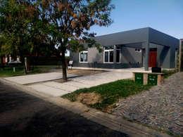 Final de Obra - Frente: Casas de estilo moderno por KorteSa arquitectura