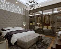 Nuevo Tasarım – Ankara Çay yolu Duru Irmak Sitesi Projesi: modern tarz Yatak Odası