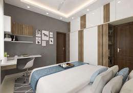 1st son bedroom: modern Bedroom by Samanta's Studio