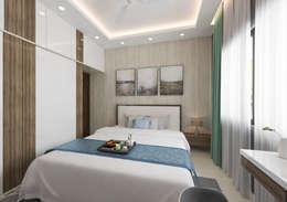 2nd son bedroom: modern Bedroom by Samanta's Studio