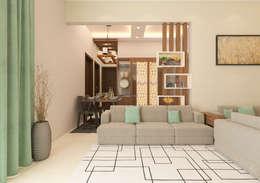 Dinning: modern Dining room by Samanta's Studio
