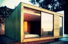 Casa Pazols: Casas de estilo moderno por m2 estudio arquitectos