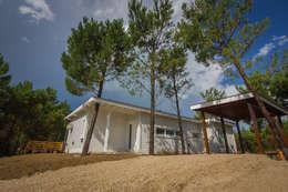 Casa modular: Casas de estilo moderno por JOM HOUSES