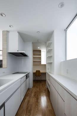 松岡淳建築設計事務所의  주방