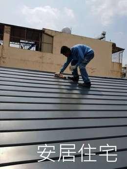 鍍鋁鋅+氟碳烤漆:   by 安居住宅有限公司