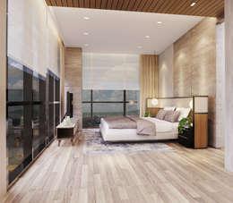 Veranda Apartement:  Kamar Tidur by nakula arsitek studio