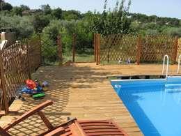 Pavimenti per piscine esterne finest gallery of per piscina with