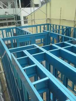 樓板 型鋼:   by 安居住宅有限公司