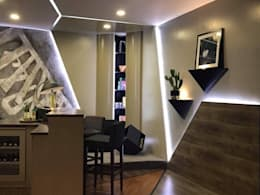 Interior Construction:   by  ABG Architects and Builders