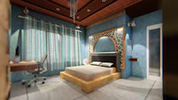 Home Residential : modern Bedroom by EVEN SIGHTS ARCHITECTS