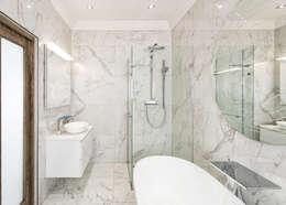 Modern Bathroom:   by Deborah Garth Interior Design