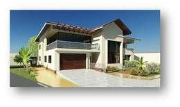 3 Bedroom Duplex:   by Peridot Architects