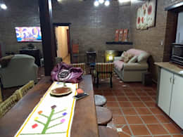 CASA CELMIRA, Santiago del Estero.: Livings de estilo rústico por A3 arquitectas