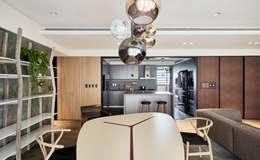 昕情 Greatful heart:  餐廳 by 耀昀創意設計有限公司/Alfonso Ideas